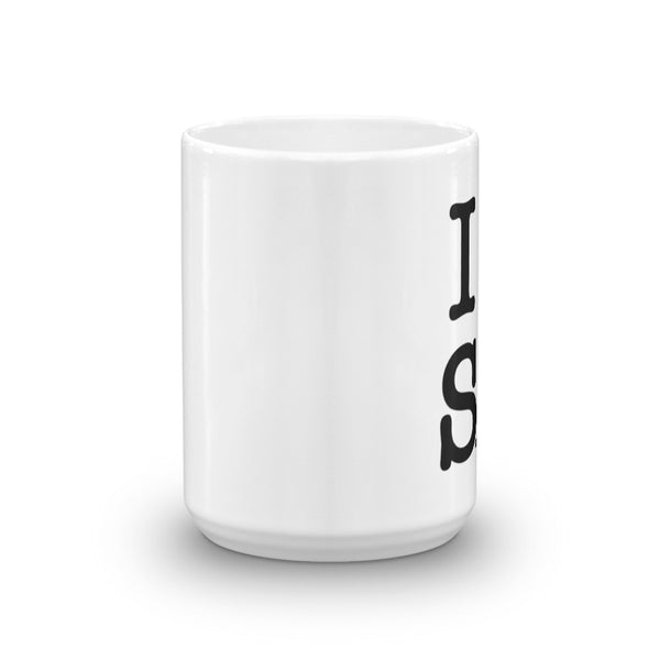 I Love Smooth Jazz - Mug - (SJS Exclusive)