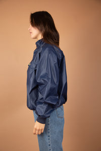 Navy Lacoste pullover jacket, magichollow