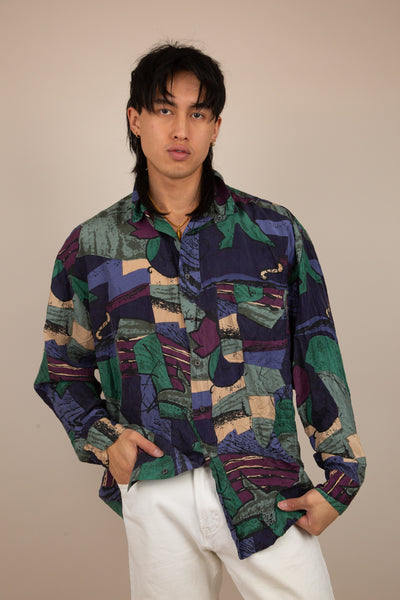 Chiamare Silk Button Up