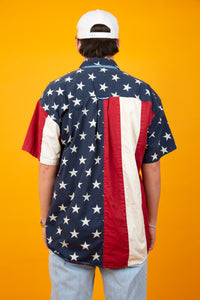 Chaps USA Button Up