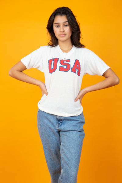 USA Spell-out Tee