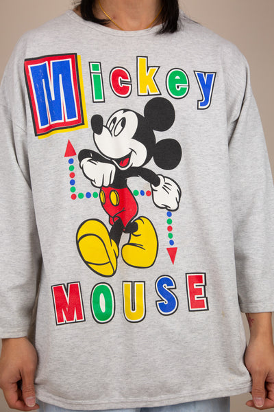 mickey sweater. 90s vintage. magichollow.