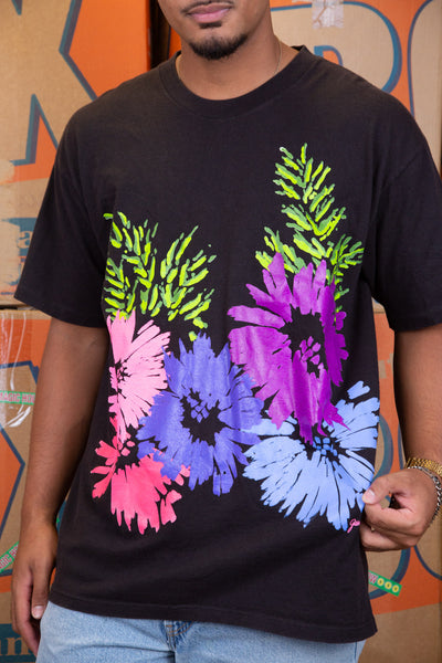Distressed Warhol Flower Tee