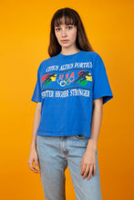 Load image into Gallery viewer, Model wearing vintage Olympic tee