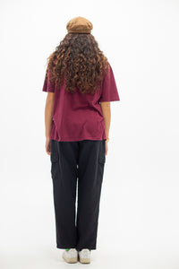 Model wearing yellow knit top, magichollow