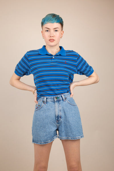 Blue stripe Ralph Lauren top, magichollow