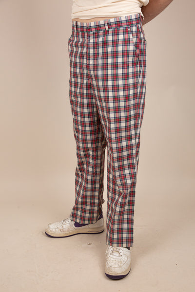 Dexter Plaid Pants