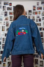 Load image into Gallery viewer, Minnesota Snoopy Denim Jacket