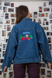 Minnesota Snoopy Denim Jacket