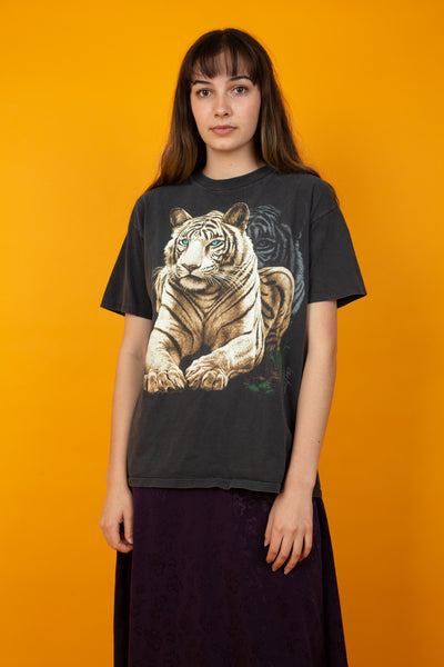 Vintage Faded Animal Single Stitch Tee magichollow