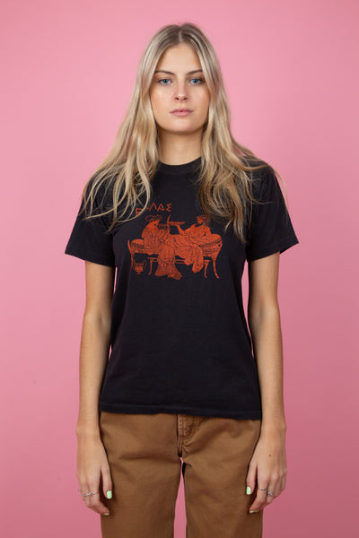 Athens Single-Stitch Tee