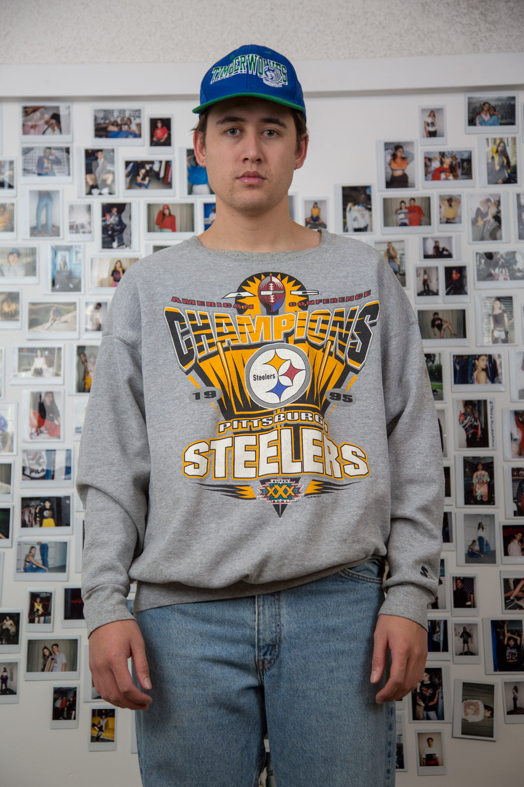 1995 Pittsburgh Steelers Sweater