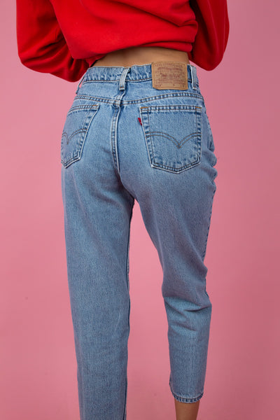 Levi's 512 Cropped Jeans