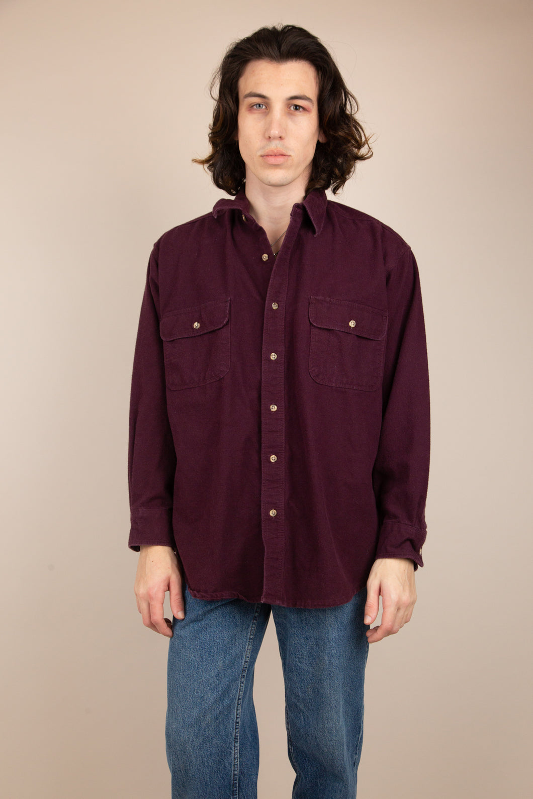 Tyron Button Up