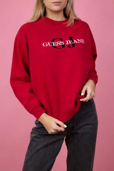 Guess Red Sweater