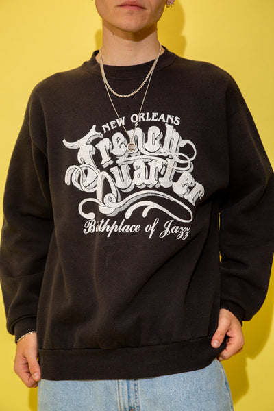 New Orleans French Quarter Sweater