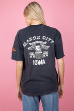 Load image into Gallery viewer, black faded harley davidson tee. magichollow