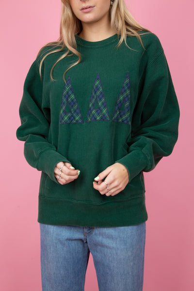 Forest Green Lee sweater. 90's Vintage. MAGICHOLLOW