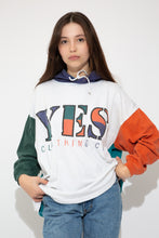 Load image into Gallery viewer, Model wearing YES hooded longsleeve, magichollow