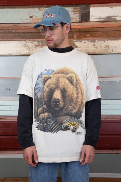 brown bear tee. magichollow.
