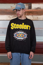 Load image into Gallery viewer, steelers sweater in a white colour-way. magichollow.