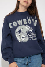 Load image into Gallery viewer, Model wearing cowboys sweater, magichollow