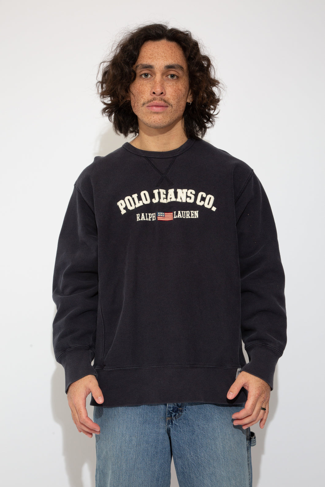 polo jeans co sweater. 90s vintage. magichollow.