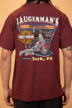Load image into Gallery viewer, harley davidson graphic tee. 90s vintage. magichollow!