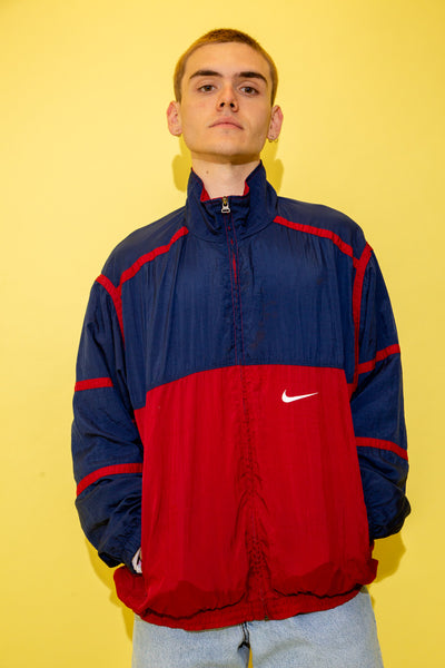 Nike Windbreaker White Tag