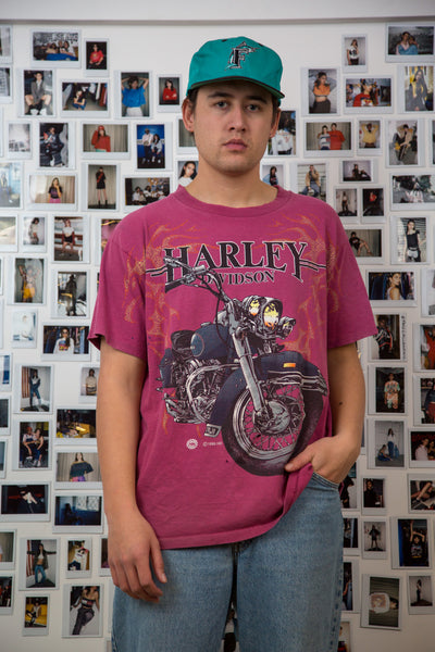 1995 Distressed Harley Davidson Tee