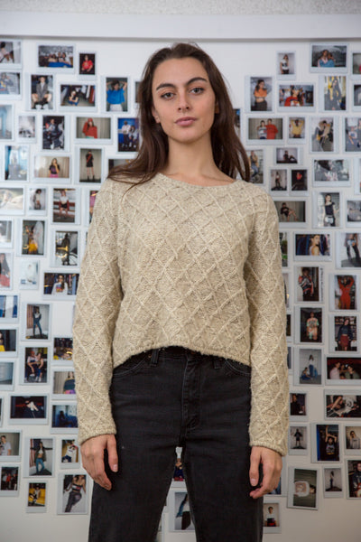Alessandra Cropped Knit