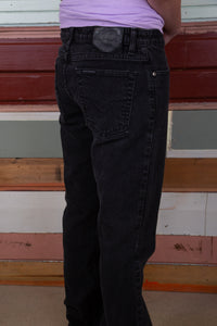 faded black tall straight fit harley davidson jeans