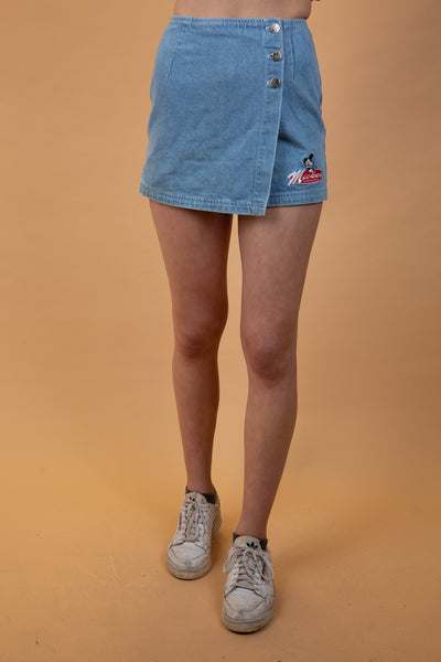 Mickey Denim Skort