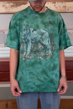 Load image into Gallery viewer, Distressed Tie-Dye Wolf Tee