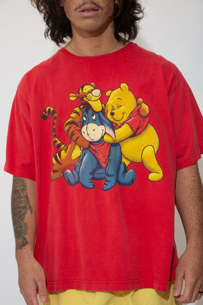 winnie the pooh graphic tee. 90s vintage. magichollow.