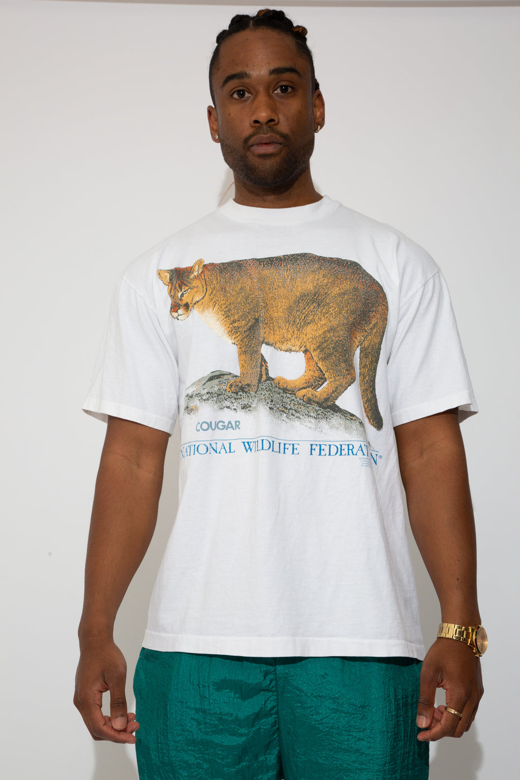 cougar tee. 90s vintage. magichollow.