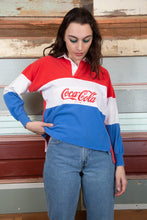 Load image into Gallery viewer, model wearing CocaCola shirt, magichollow