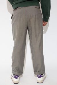 dress pants in a grey colour-way. 90s vintage. magichollow!