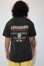 Load image into Gallery viewer, harley davidson graphic tee in black. 90s vintage. magichollow.