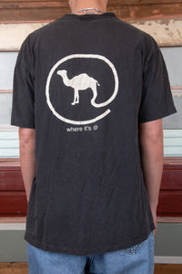 camel tee. 90s vintage. magichollow.