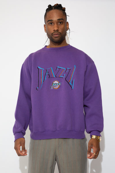 nba jazz sweater. 90s vintage. magichollow!