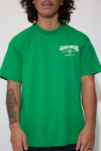 Load image into Gallery viewer, gold river tee in green. 90s vintgae. magichollow.