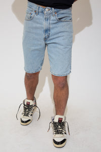 levi's denim shorts. 90s vintage. magichollow.