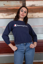 Load image into Gallery viewer, model wearing Champion sweater, magichollow