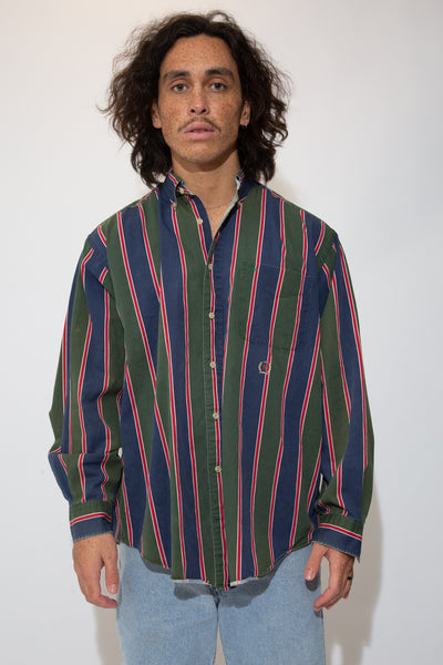 Tommy Hilfiger button up. 90s vintage. magichollow.