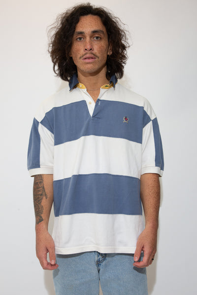tommy hilfiger ss polo. 90s vintage. magichollow.