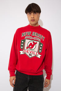 new jersey devils sweater. 90s vintage. magichollow!