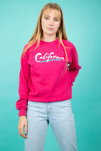 Load image into Gallery viewer, Model wearing pink California sweater, magichollow