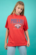 Load image into Gallery viewer, model wearing Phillies tee, magichollow