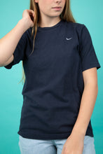 Load image into Gallery viewer, Navy nike tee, magichollow